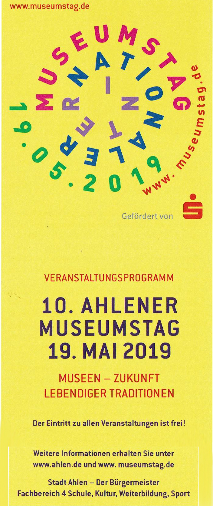 museumstag 2019 2